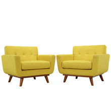 Engage Armchair Set of 2 in Sunny