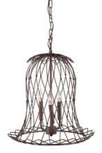 Chert Ceiling Lamp, Rustic Metal