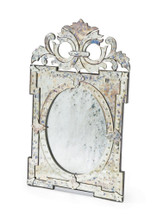 Castle Mirror , Silver Glass