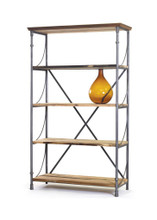 Sagaponik Bookshelf , Brown Wood