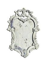 Cinderella Mirror , Silver Metal