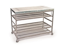 Bakers Console , Silver Metal