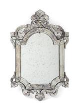 Palazzo Mirror , Silver Metal