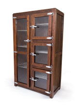 Bucher Wardrobe , Brown Wood
