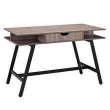 Turnabout Desk, Brown Wood