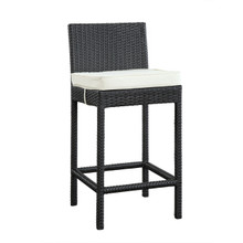 Lift Bar Stool in Espresso White