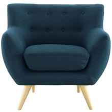 Remark Armchair, Navy Fabric