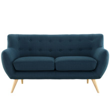 Remark Loveseat, Navy Fabric