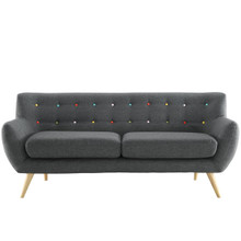 Remark Sofa, Grey Fabric