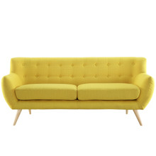 Remark Sofa, Yellow Fabric