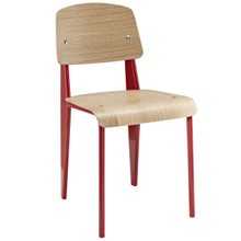 Cabin Dining Side Chair, Red Wood