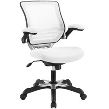 Edge Office Chair, White Fabric