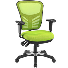 Articulate Office Chair, Green Fabric