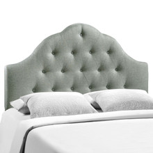 Sovereign King Fabric Headboard, Grey Fabric