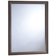 Tracy Mirror, Brown Wood