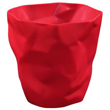 Lava Trash Bin in Red