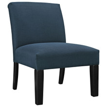Auteur Fabric Chair, Navy Fabric