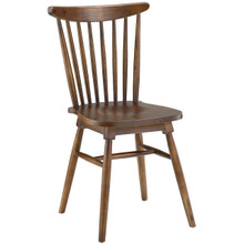 Amble Dining Side Chair, Brown, Wood