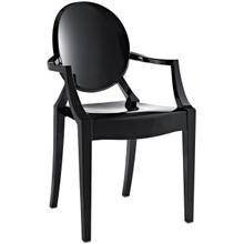 Casper Dining Armchair in Black