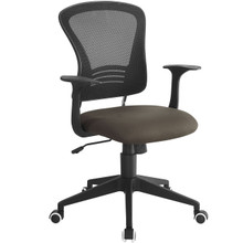 Poise Office Chair , Brown, Plastic