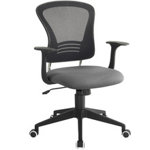 Poise Office Chair , Grey, Plastic