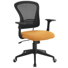 Poise Office Chair , Orange, Plastic