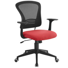 Poise Office Chair , Red, Plastic