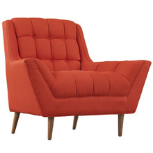 Response Fabric Armchair , Red, Fabric