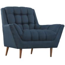 Response Fabric Armchair , Navy, Fabric