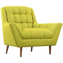 Response Fabric Armchair , Green, Fabric