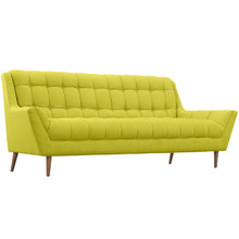 Response Fabric Sofa , Green, Fabric