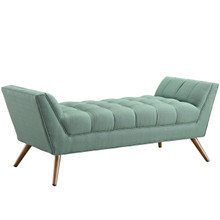 Response Medium Fabric Bench, Blue, Fabric
