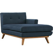 Engage Right-Arm Chaise , Navy, Fabric