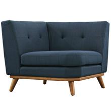 Engage Corner Sofa , Navy, Fabric