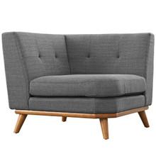 Engage Corner Sofa , Grey, Fabric