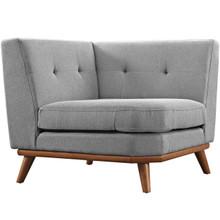 Engage Corner Sofa , Fabric, Grey