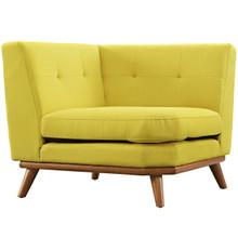 Engage Corner Sofa , Yellow, Fabric