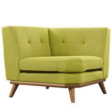 Engage Corner Sofa , Green, Fabric