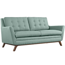 Beguile Fabric Loveseat , Blue, Fabric
