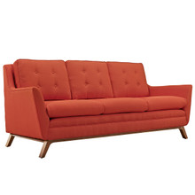 Beguile Fabric Sofa , Red, Fabric