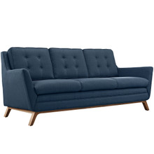 Beguile Fabric Sofa , Navy, Fabric