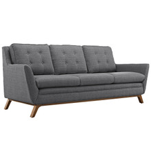 Beguile Fabric Sofa , Grey, Fabric