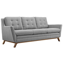 Beguile Fabric Sofa , Fabric, Grey