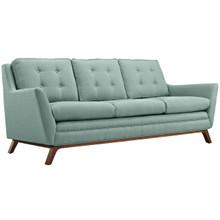 Beguile Fabric Sofa , Blue, Fabric