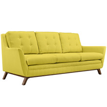 Beguile Fabric Sofa , Yellow, Fabric