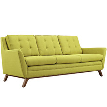 Beguile Fabric Sofa , Green, Fabric