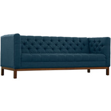 Panache Fabric Sofa , Navy, Fabric