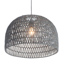 Paradise Ceiling Lamp, Gray, Metal