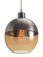 Trente Ceiling Lamp, Yellow, Glass