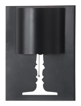 Dream Wall Lamp, Black, Metal
